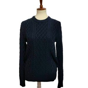 NEW J Crew Cable Knit Sweater